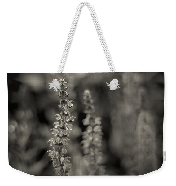 Weekender Tote Bag featuring the photograph Flex by Doug Gibbons