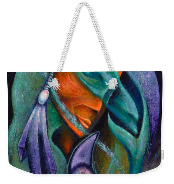 Flight Of Consciousness Weekender Tote Bag
