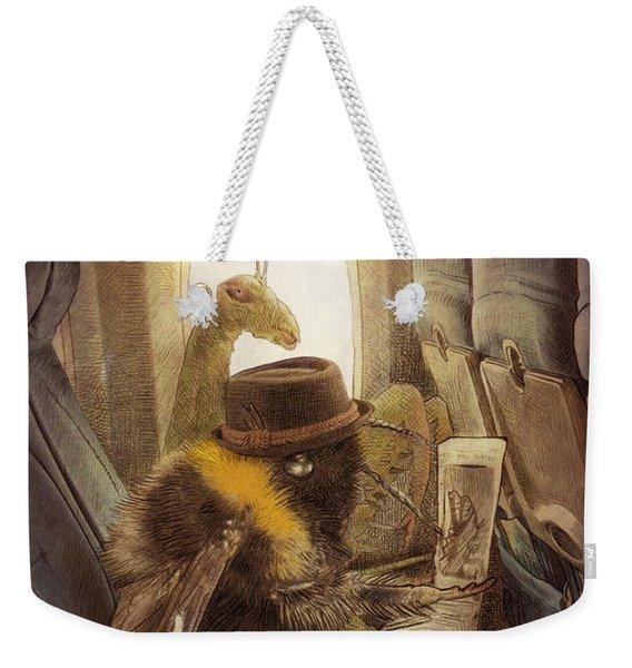 Flight Of The Bumblebee Weekender Tote Bag