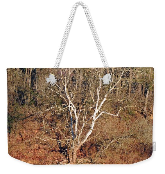 Flint River 25 Weekender Tote Bag