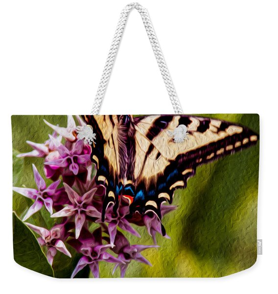 Float Like A Butterfly Weekender Tote Bag