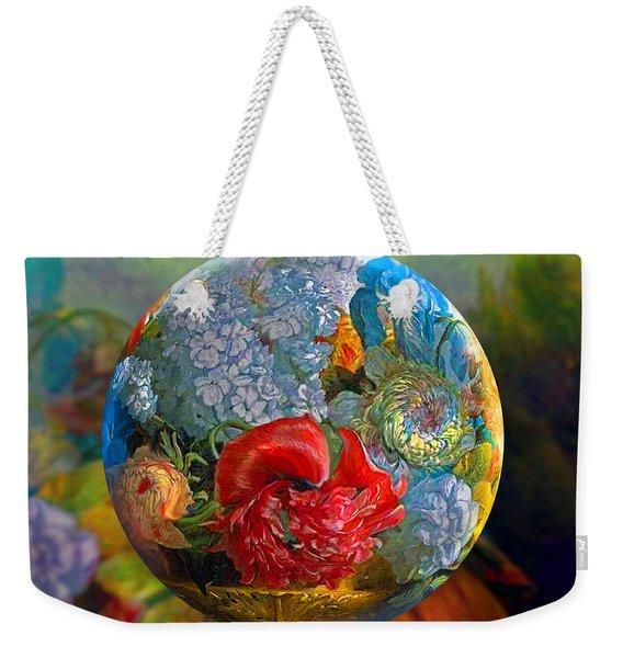 Floral Ambrosia Weekender Tote Bag