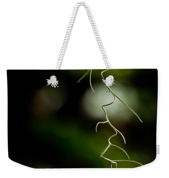 Floral Curves Weekender Tote Bag