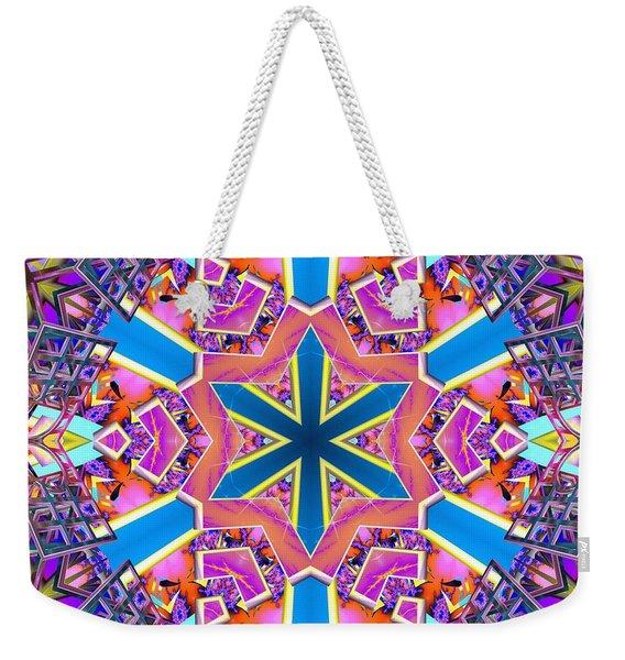 Floral Dreamscape Weekender Tote Bag