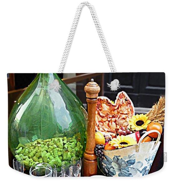 Florentine Still Life Italy Florence Weekender Tote Bag