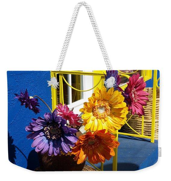 Flores Colores Weekender Tote Bag