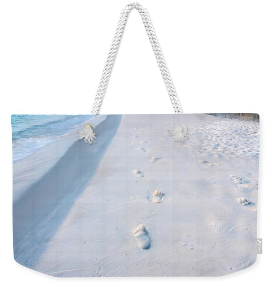 Florida Beach Scene Weekender Tote Bag