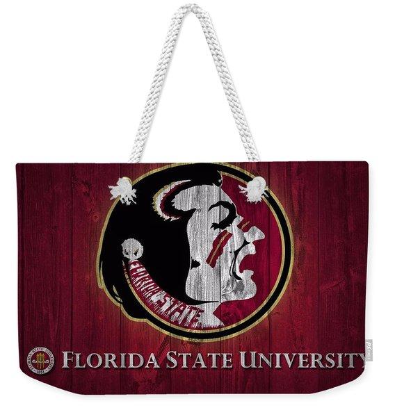 Florida State University Barn Door Weekender Tote Bag