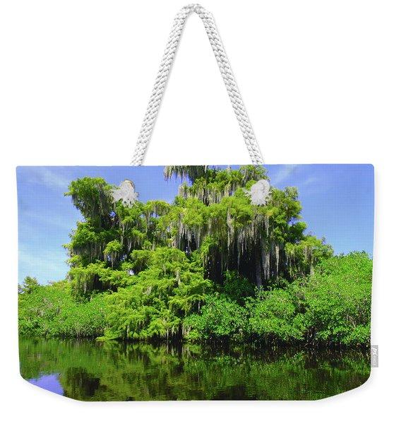Florida Swamps Weekender Tote Bag