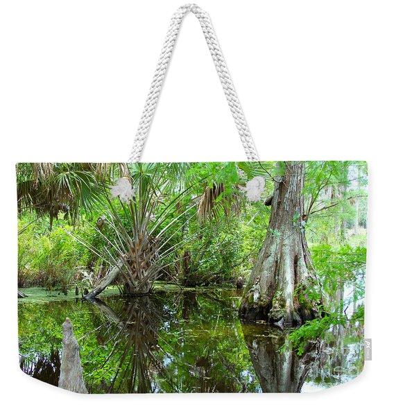 Florida Wetland Weekender Tote Bag