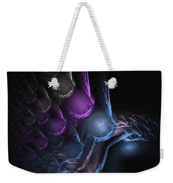 Flow - Abstract Art Weekender Tote Bag