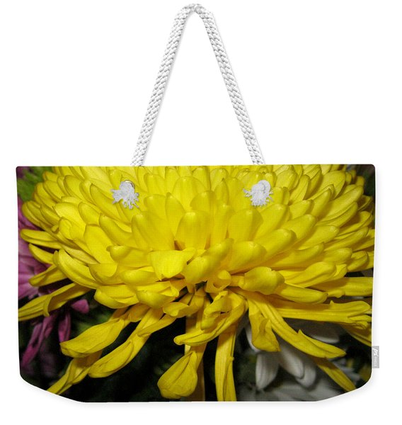 Yellow Queen. Beautiful Flowers Collection For Home Weekender Tote Bag