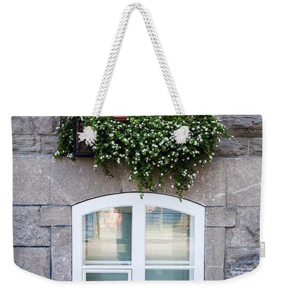 Flower Box Old Quebec City Weekender Tote Bag