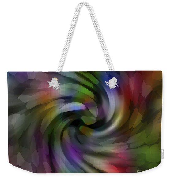 Flower Car Weekender Tote Bag