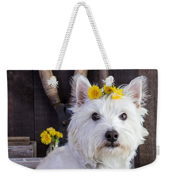 Flower Child Weekender Tote Bag