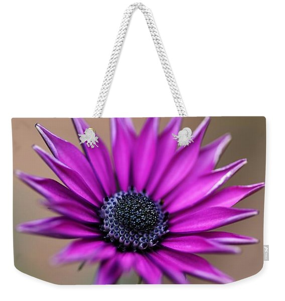 Flower-daisy-purple Weekender Tote Bag