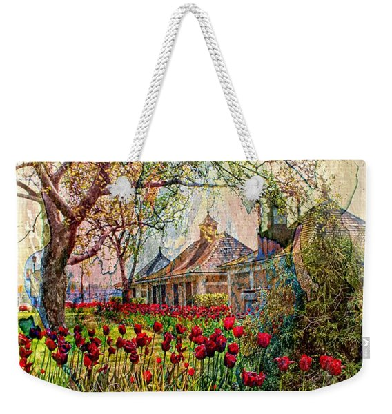 Flower Garden Series 02 Weekender Tote Bag