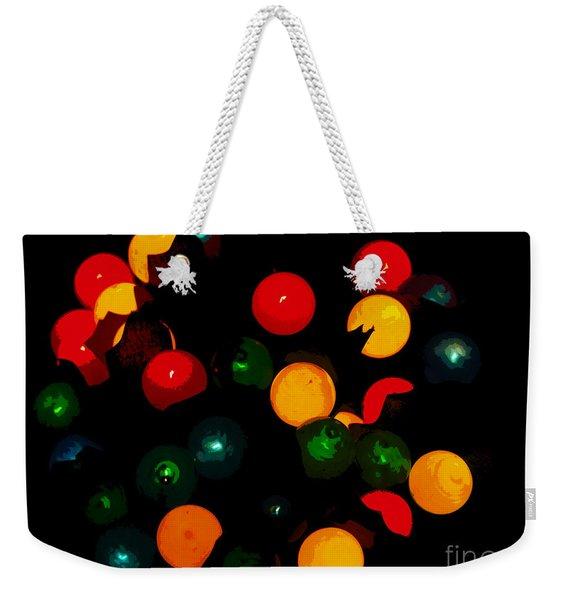 Flower Light Bunch Weekender Tote Bag