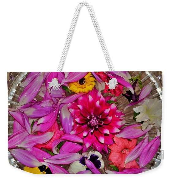 Flower Offerings - Jabalpur India Weekender Tote Bag