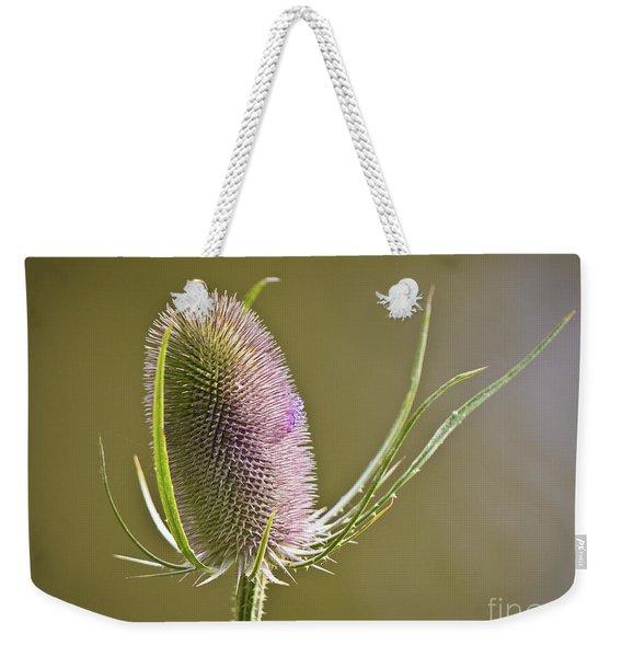 Flowering Teasel. Weekender Tote Bag