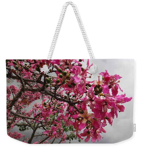 Flowers And Thorns And The Sky Adorned  Weekender Tote Bag