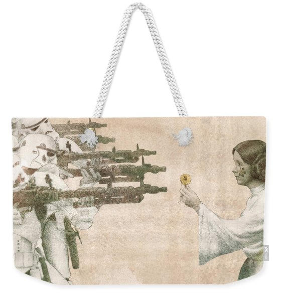 Flowers For Alderaan Weekender Tote Bag