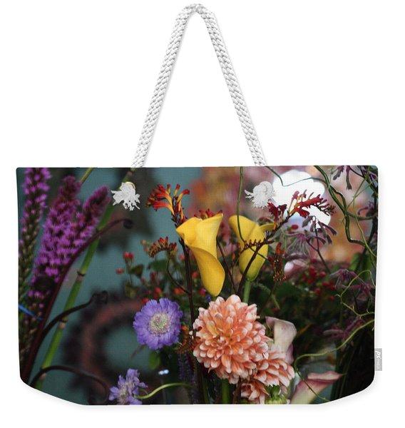 Flowers From My Window Weekender Tote Bag