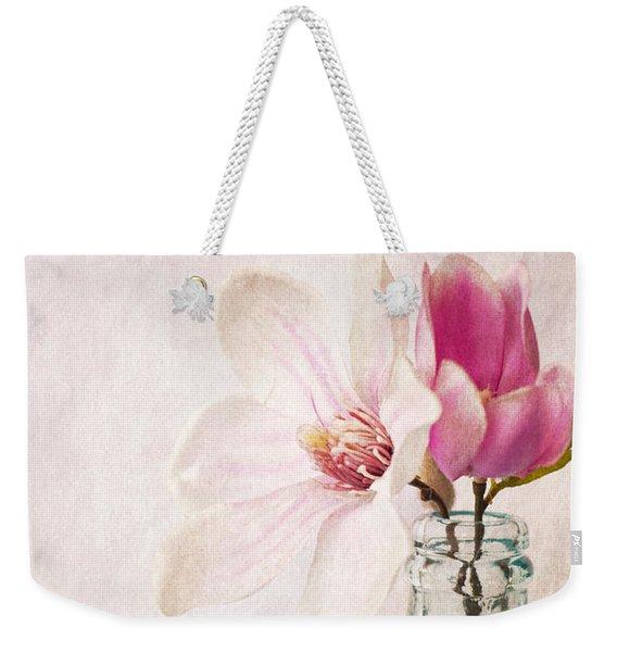 Flowers In A Bottle Weekender Tote Bag