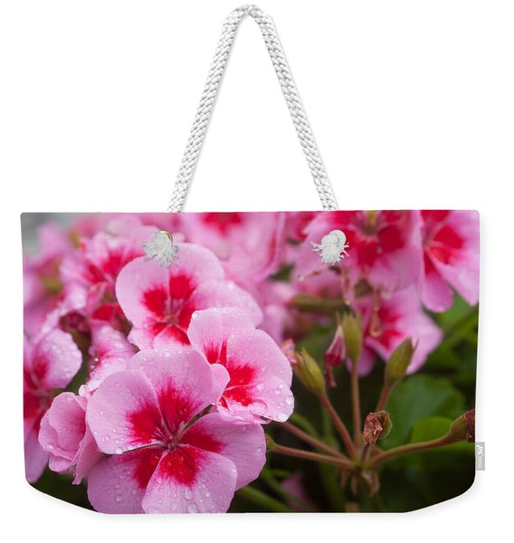 Flowers On A Rainy Sunday Afternoon Weekender Tote Bag