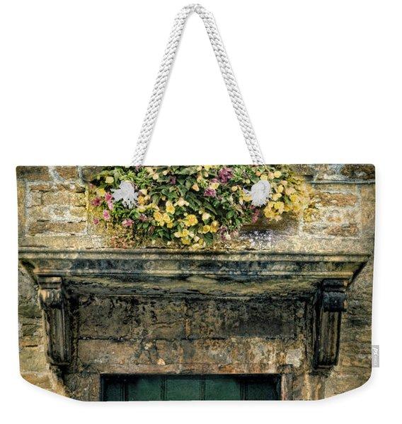 Flowers Over Doorway Weekender Tote Bag