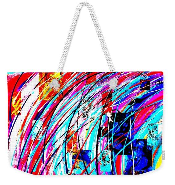 Fluid Motion Pop Art Weekender Tote Bag