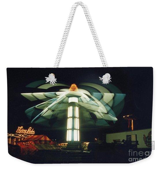 Flying  Bob Weekender Tote Bag