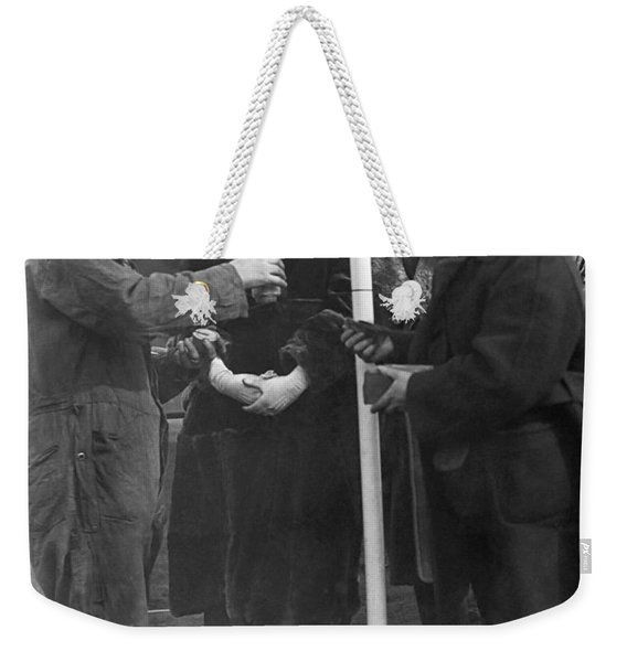 Flying By The Pound Weekender Tote Bag