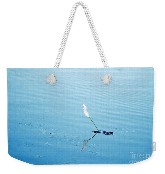 Flying Feather Boat Weekender Tote Bag