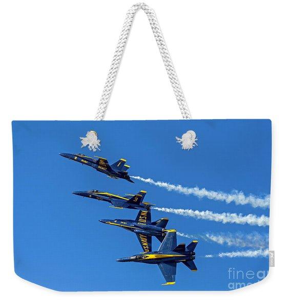Flying Formation Weekender Tote Bag