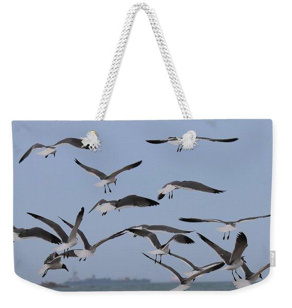 Flying Gulls  Weekender Tote Bag