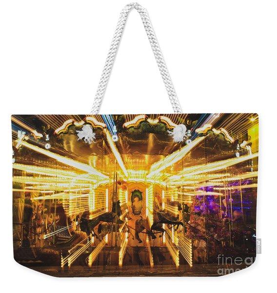 Flying Horses Carousel  Weekender Tote Bag