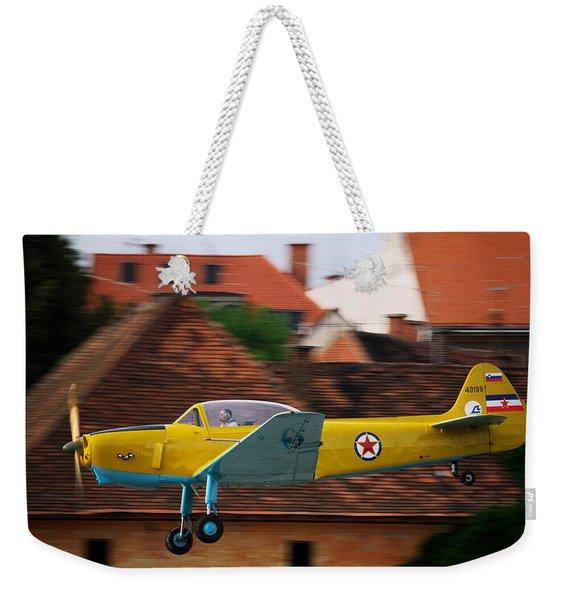 Flying Low Weekender Tote Bag