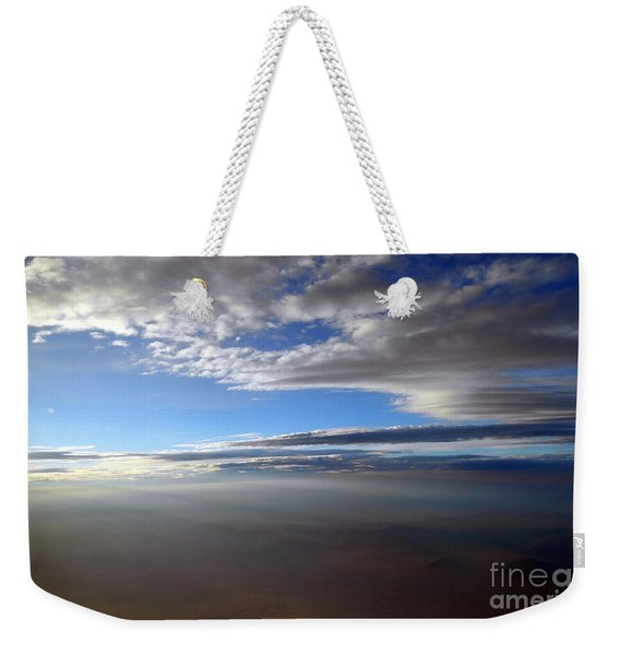 Flying Over Southern California Weekender Tote Bag