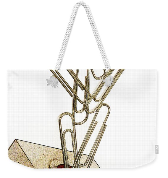 Flying Paperclips Weekender Tote Bag