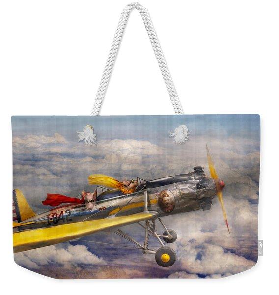 Flying Pig - Plane - The Joy Ride Weekender Tote Bag