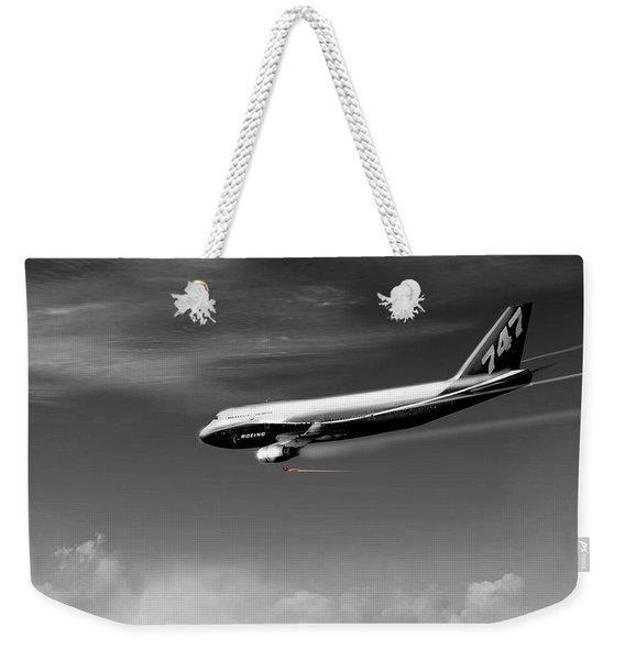 Flying Safe - Boeing 747 Weekender Tote Bag