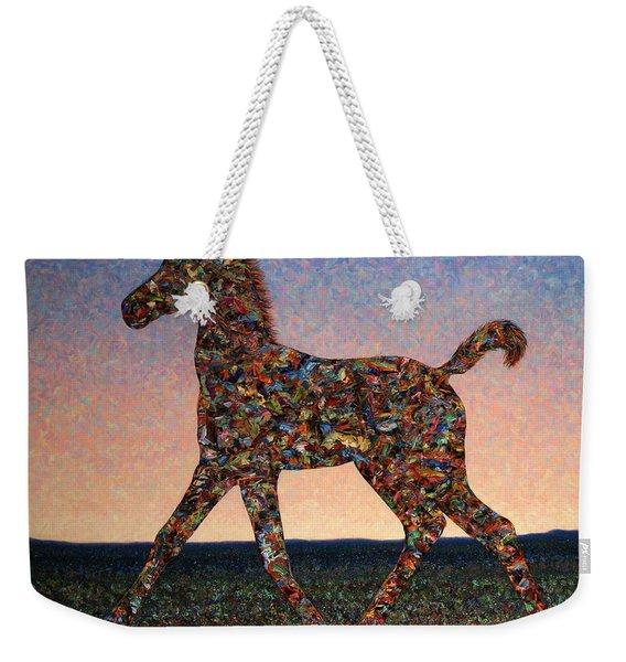 Foal Spirit Weekender Tote Bag