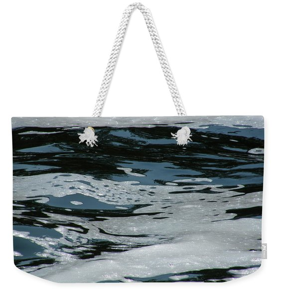 Foam On Water Weekender Tote Bag