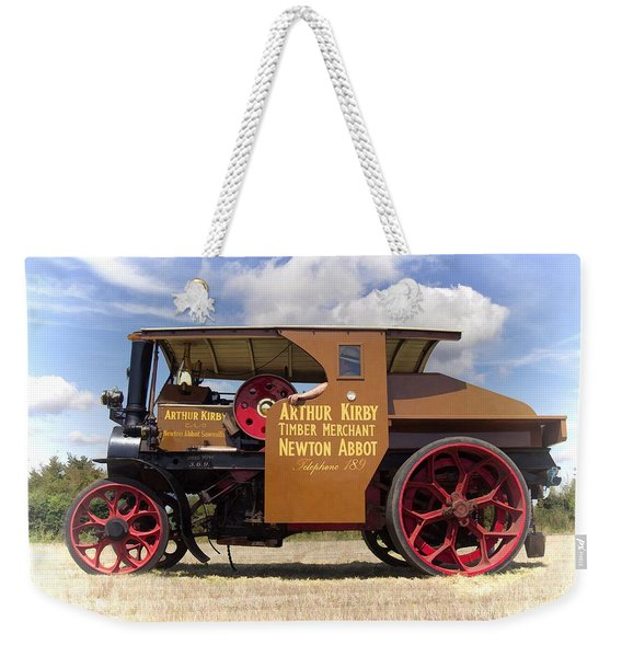 Foden Tractor Weekender Tote Bag