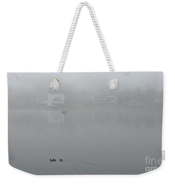 Foggy Morning In Paradise - 01 Weekender Tote Bag