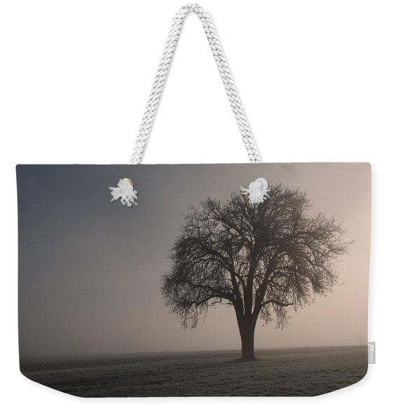 Foggy Morning Sunshine Weekender Tote Bag