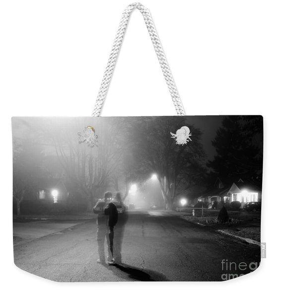 Foggy Night Weekender Tote Bag