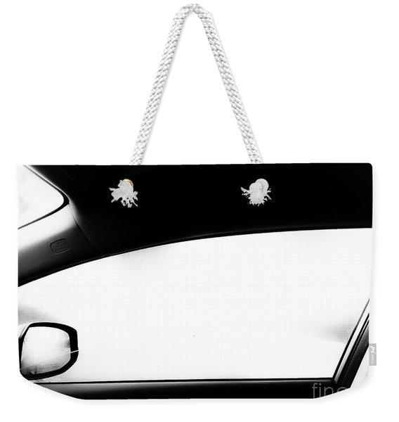 Foggy Window Weekender Tote Bag