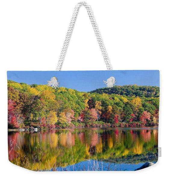 Foilage In The Fall Weekender Tote Bag